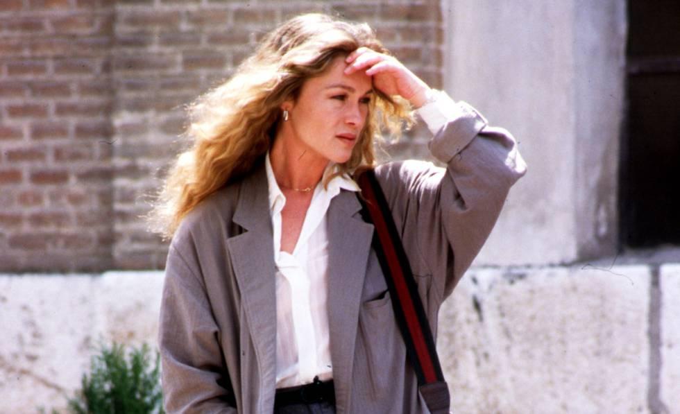 La actriz Pepa Flores, en Málaga en 1998.