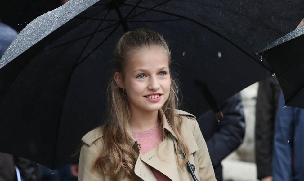 15 лет принцессе Астурийской Леонор