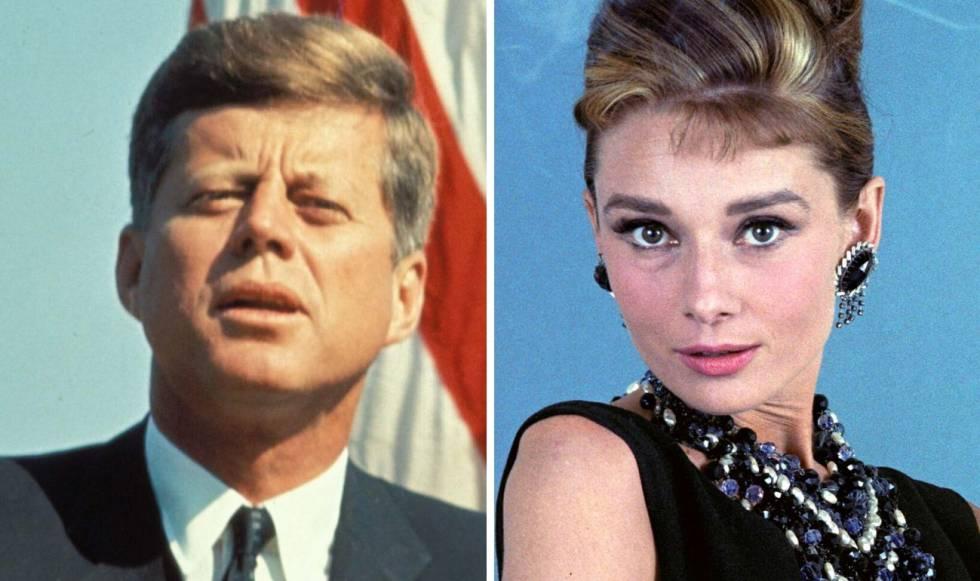 El Romance Secreto Entre John F Kennedy Y Audrey Hepburn Gente Y Famosos El País
