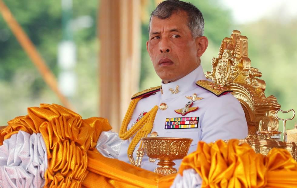 El rey de Tailandaia Maha Vajiralongkorn.