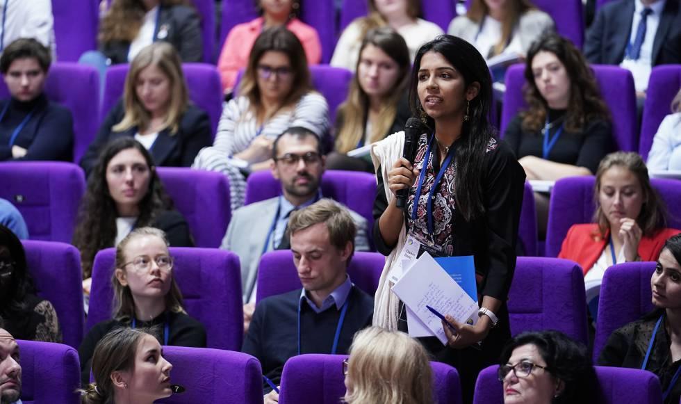 Asistentes al Congreso Mundial de Salud celebrado entre el 27 y el 29 de octubre en Berlín.     Credit: