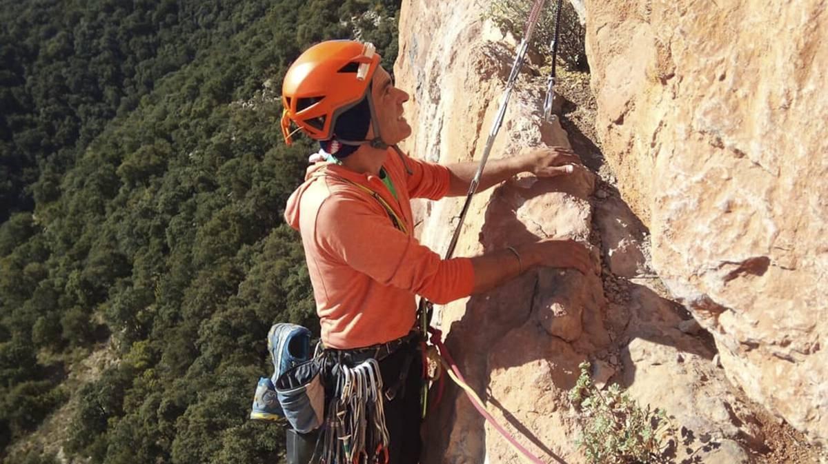 El montañero Fernando Sánchez Grassa.