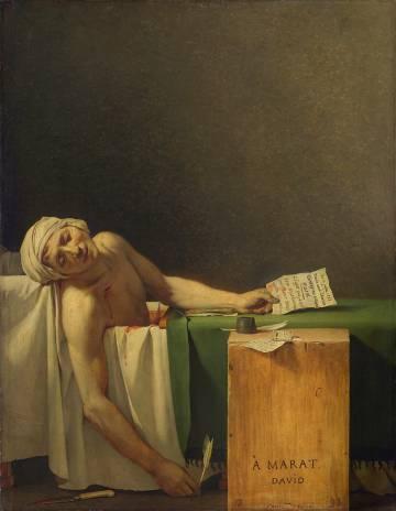 'Muerte de Marat', de David.