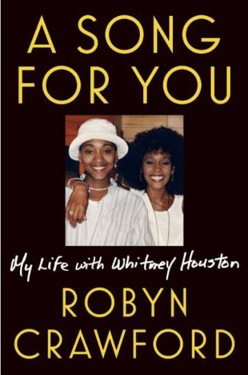 Portada del libro 'A song for you: My life with Whitney Houston'.