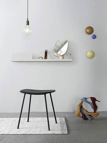 Taburete Fiber Stool y otros diseños escandinavos de Muuto.