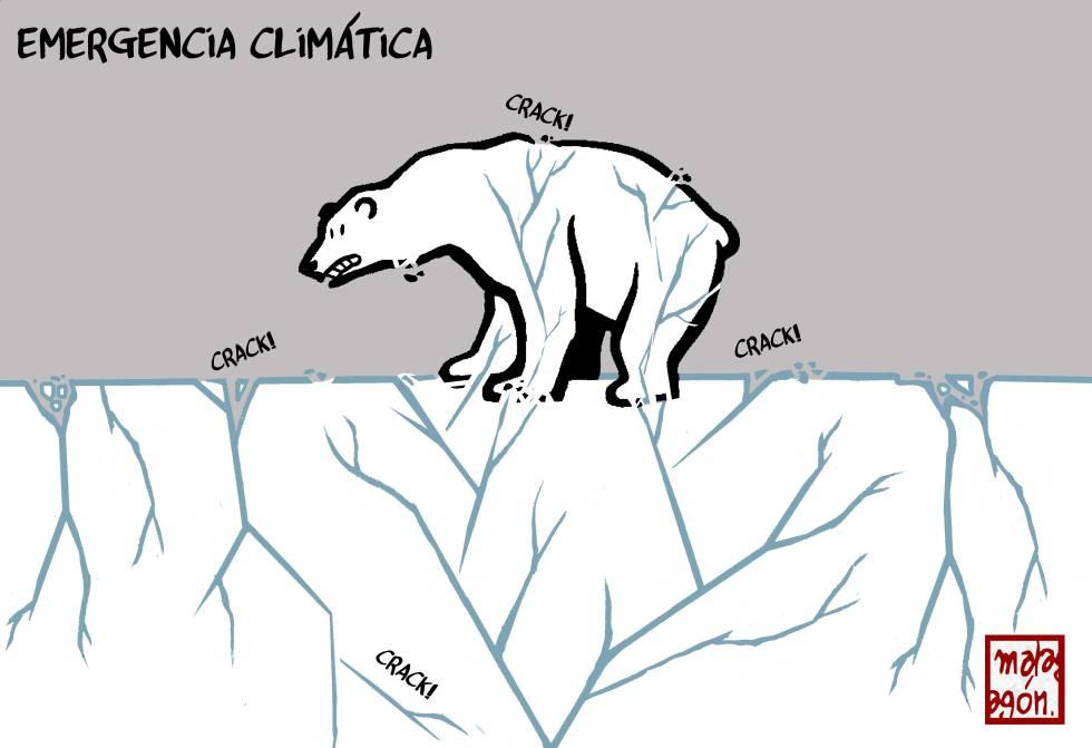 La emergencia climática, según Malagón