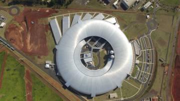 Vista aérea del Centro Nacional de Investigación de Energía y Materiales de Campinas, que alberga el proyecto Sirius.