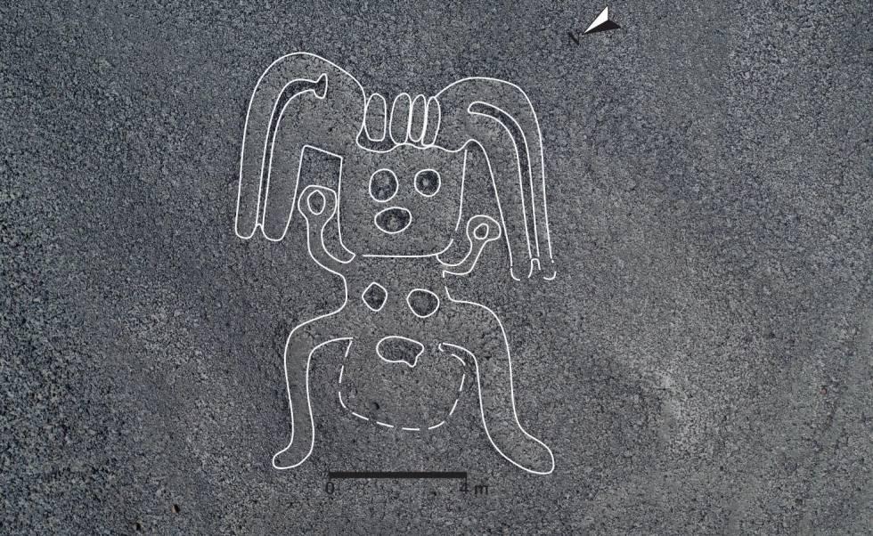 La figura de un humanoïde en alta resolución.