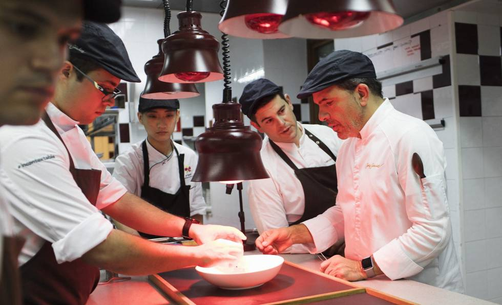Michelin-Sterne-Restaurants Spanien