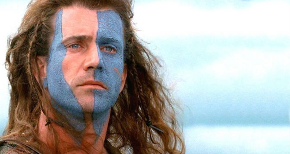 El rasgo más característico de William Wallece, protagonista de 'Braveheart' (1995), es su cara pintada de azul. Pero, ¿era este el aspecto de los guerreros escocenes de la Edad Media?