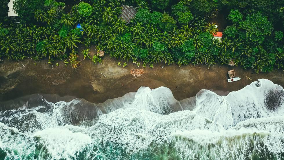 Una playa en Cambutal, en Panamá.