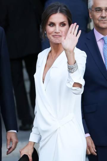 La reina Letizia, en Madrid, el pasado mes de septiembre.