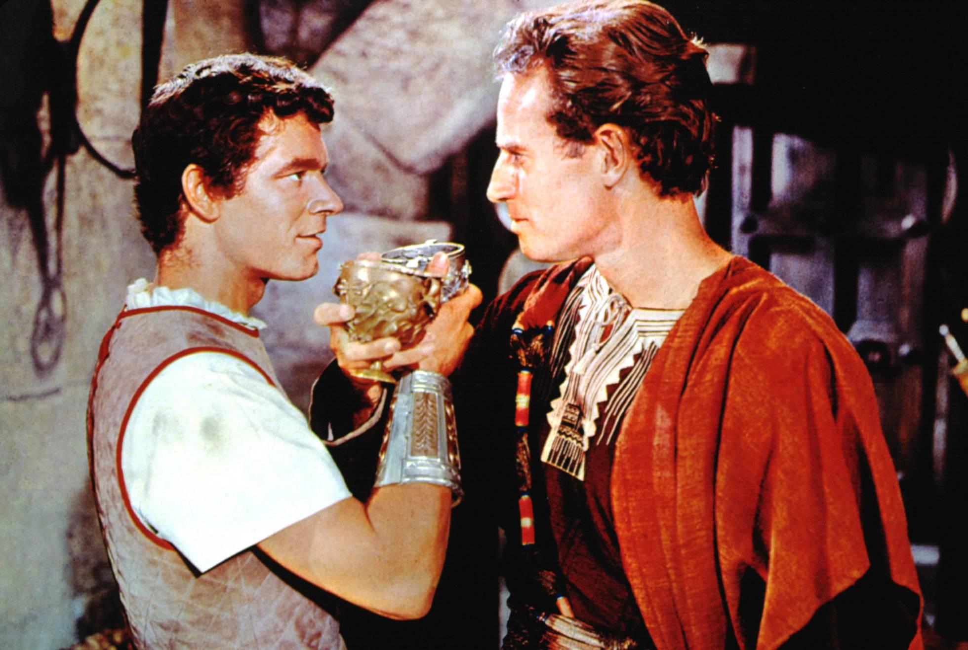 xudeu ben-hur e massala romana, unha rivalidade con tensión sexual.