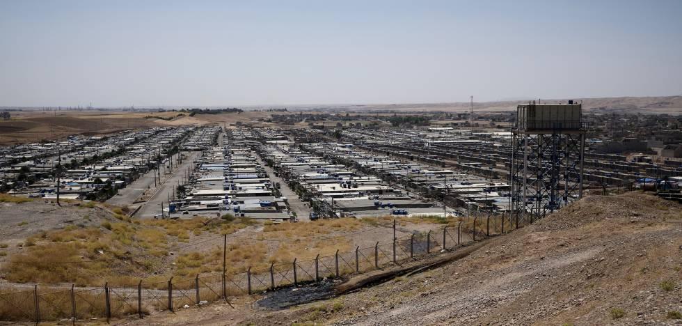 Según el ACNUR, Iraq alberga actualmente a 228.573 refugiados sirios  registrados.