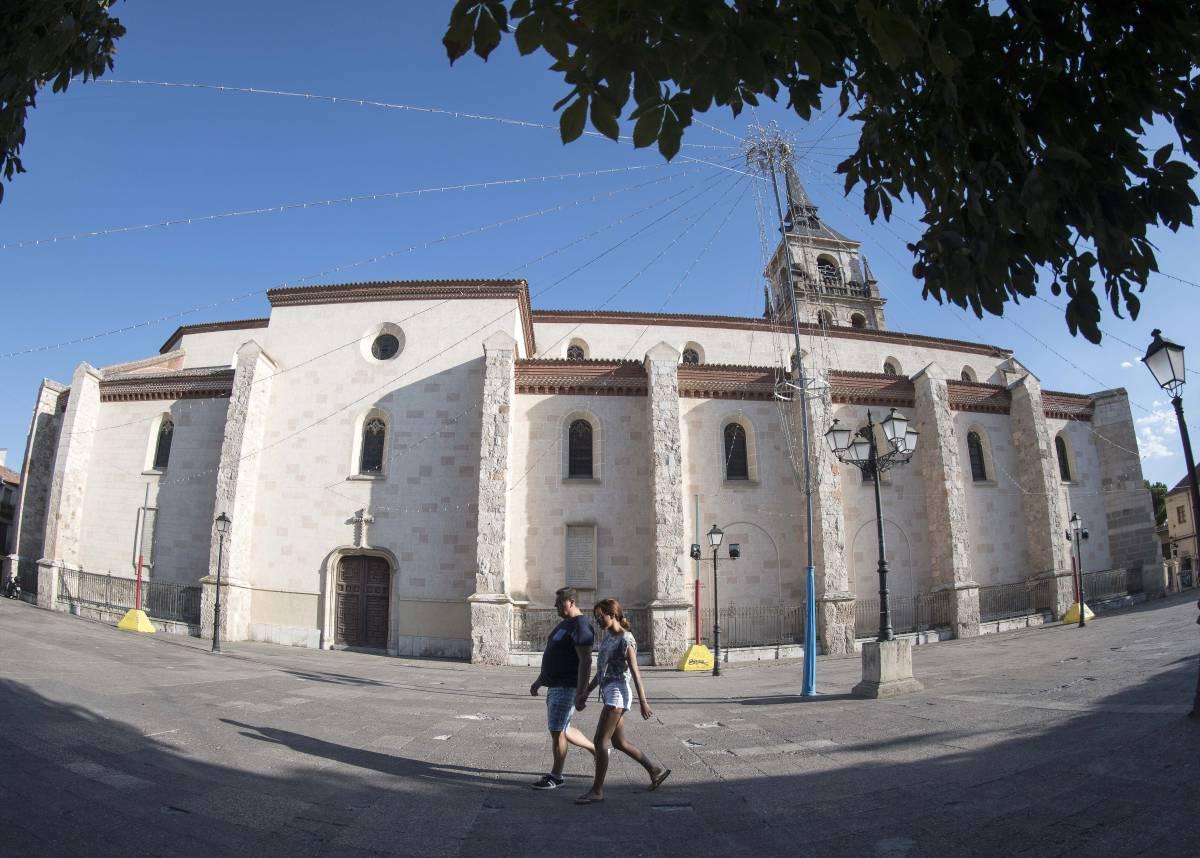 Plaza de los Santos Niños en Alcalá de Henares.