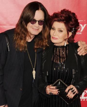 Ozzy y Sharon Osbourne en 2014.