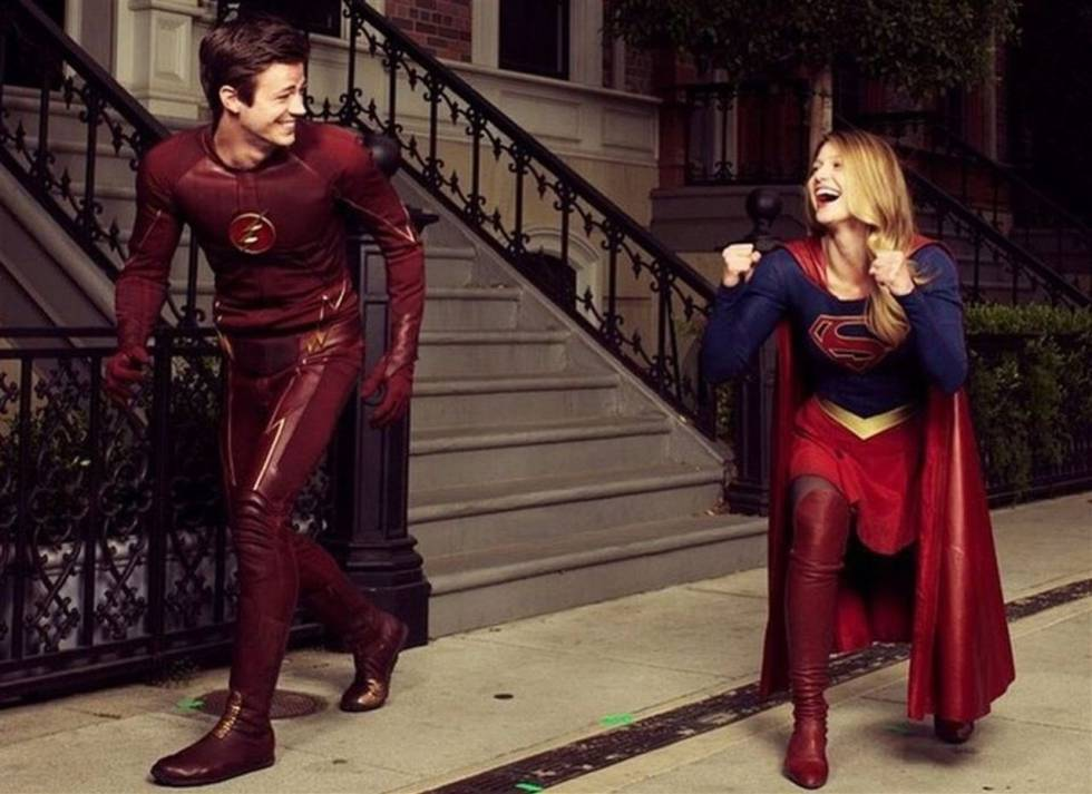'The Flash' and 'Supergirl'.