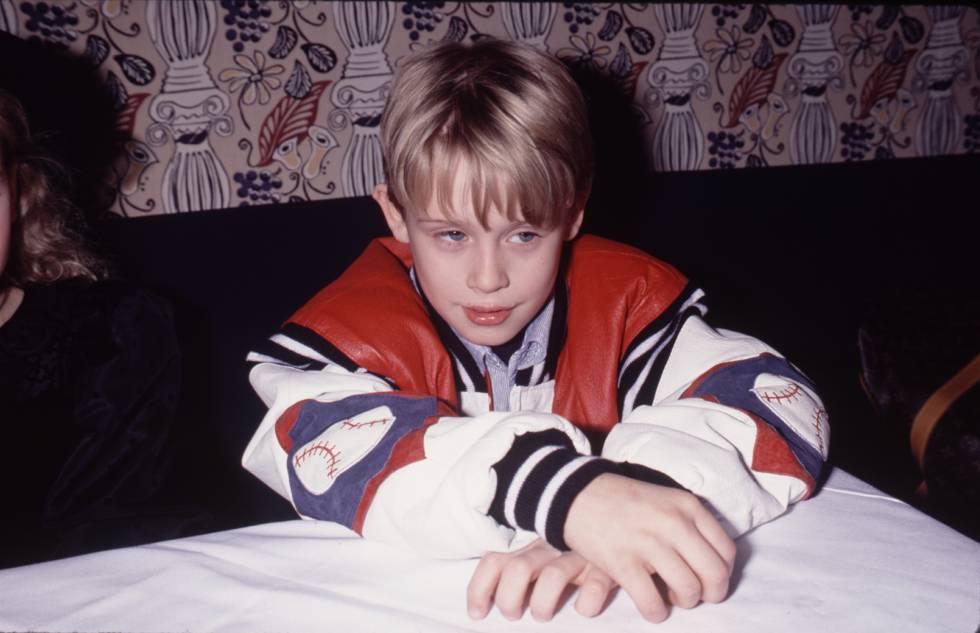 Un jovencísimo Macalay Culkin, la mayor estrella infantil del las últimas décadas pero también alguien que decidió retirarse joven.