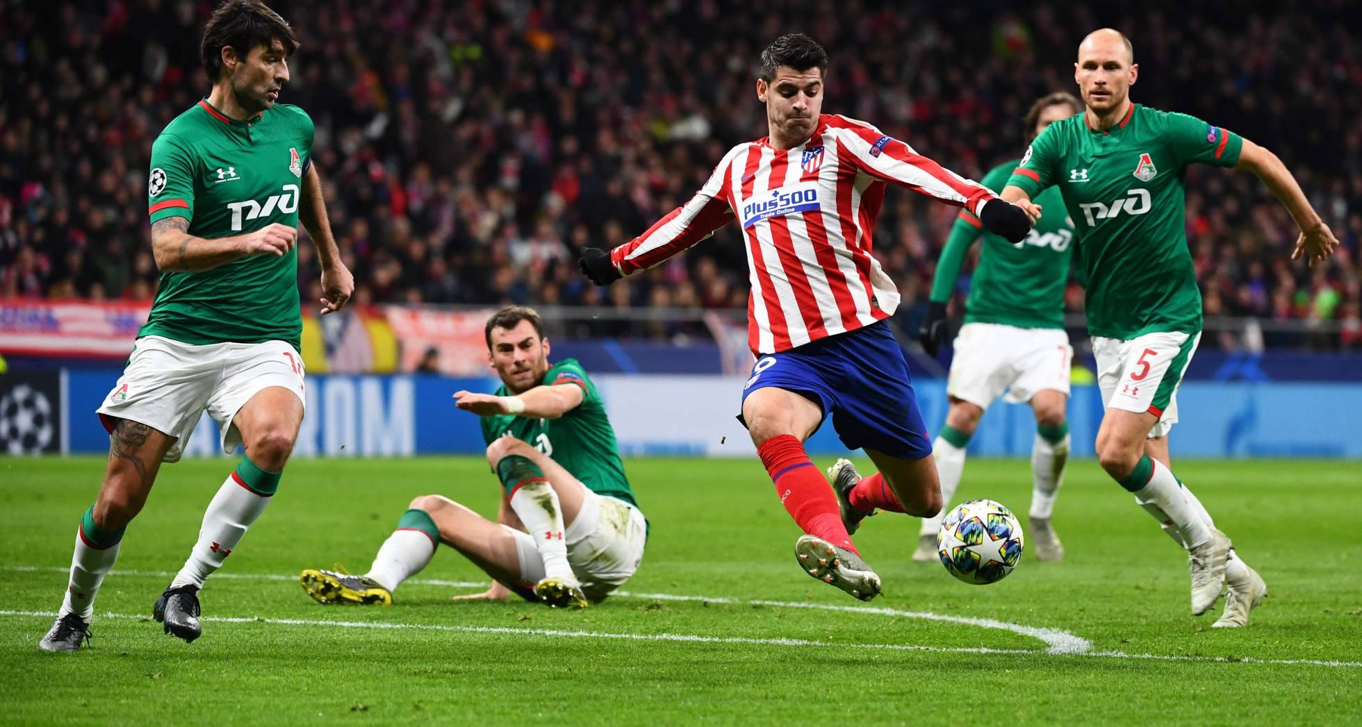 Fotos: Atlético de Madrid - Lokomotiv, el partido de Champions en imágenes | Deportes | EL PAÍS