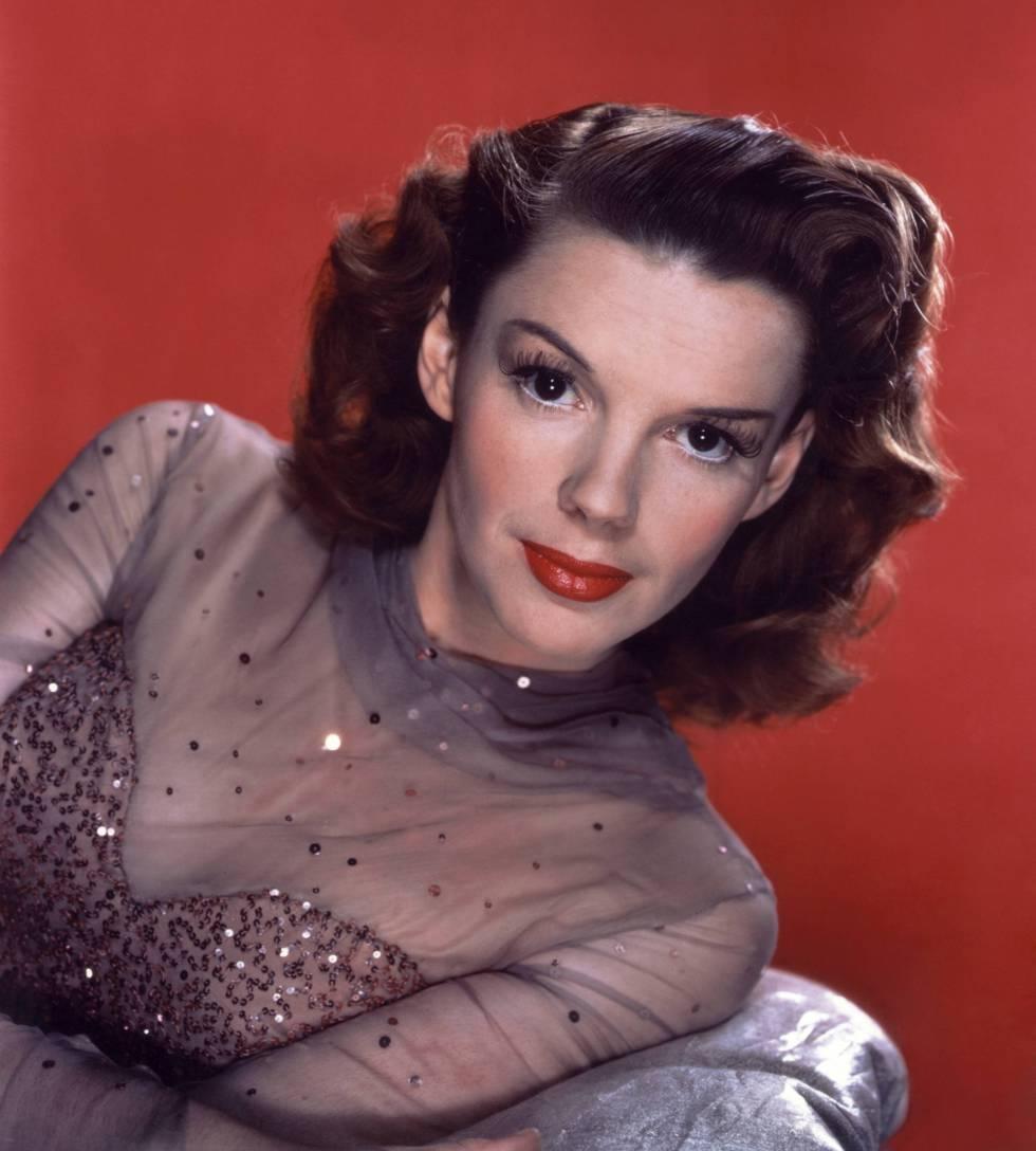 Judy Garland, a mediados de los años cuarenta
