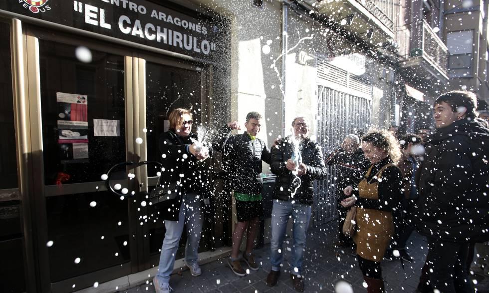 Centro aragonés El Cachirulo, en Reus (Tarragona), que ha distribuido 80 de las series del Gordo.