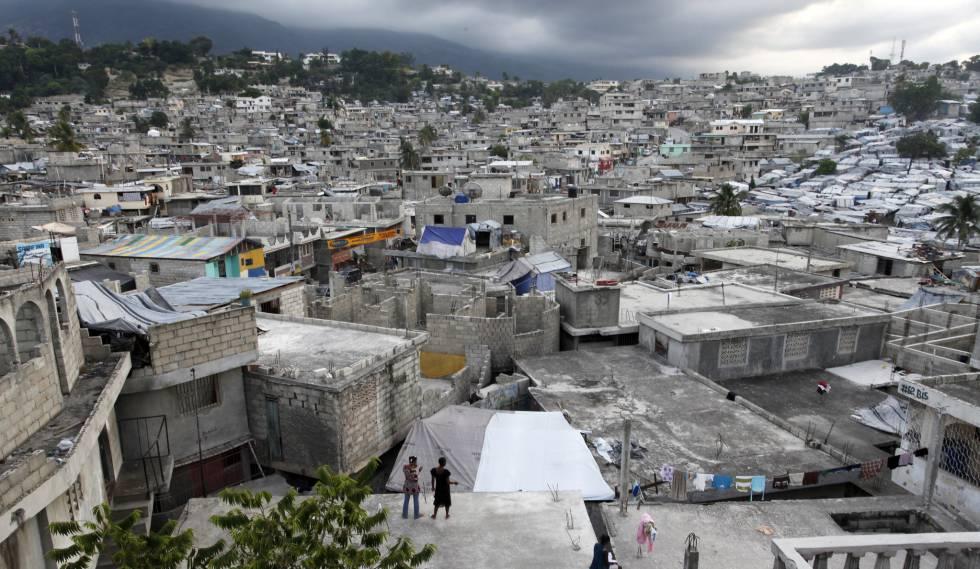 Delmas 32, barrio informal de Puerto Príncipe, Haití.