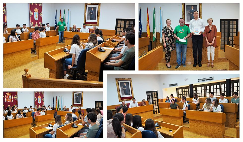 """Alumnos y alumnas del IES Virgen del Castillo presentan sus propuestas para una """"Lebrija más sostenible"""""""