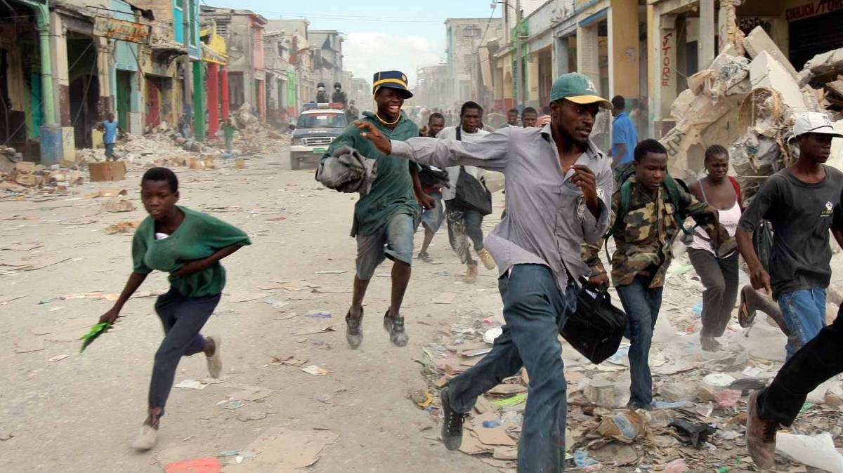 Terremoto de Haití, la memoria fotográfica de la tragedia