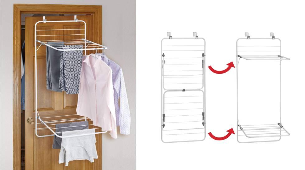 15 Gegenstände zum Aufhängen von Kleidung zu Hause und platzsparend
