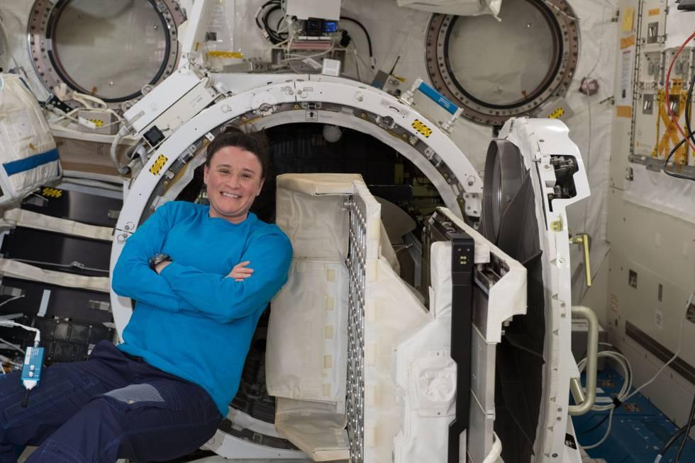 La astronauta y médica Serena Auñón-Chancellor.