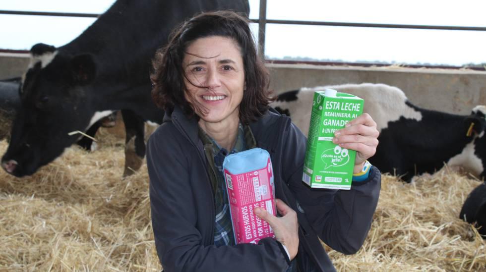 La marca vende de momento leche y huevos, pero preve ofrecer en el corto plazo también aceite y naranjas