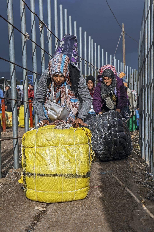 Porteurs à Melilla.