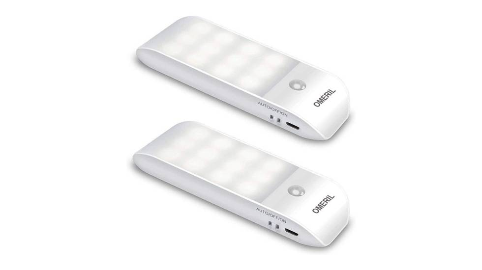 Luces nocturnas con sensor de movimiento