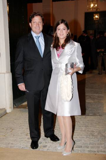 Christian Altaba y Chábeli Iglesias, en 2010.