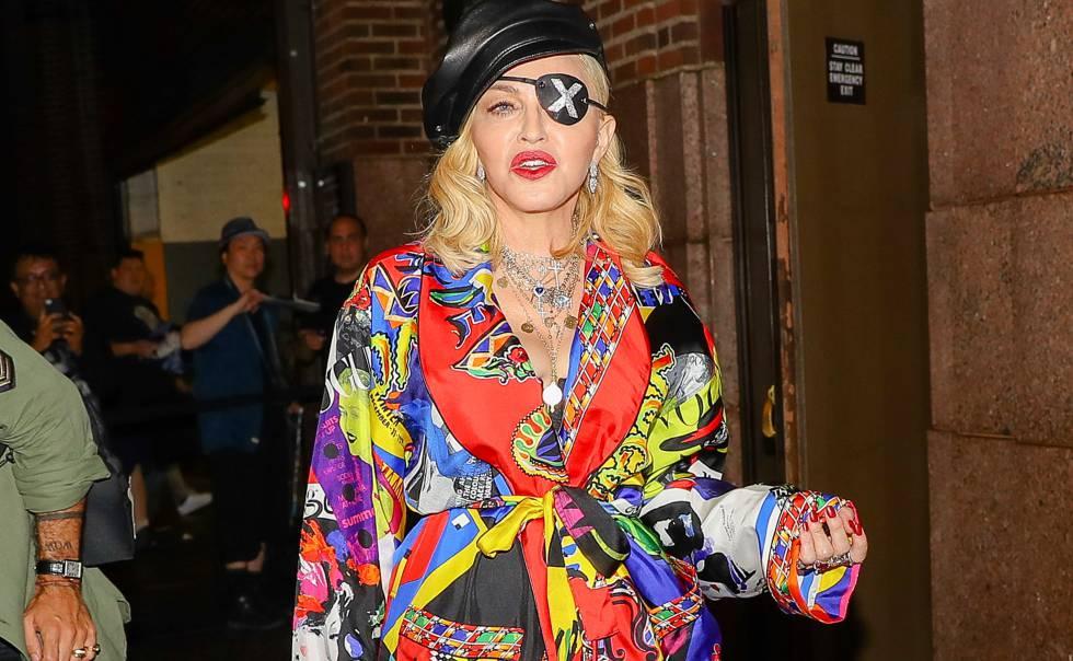 La cantante Madonna, en Nueva York.