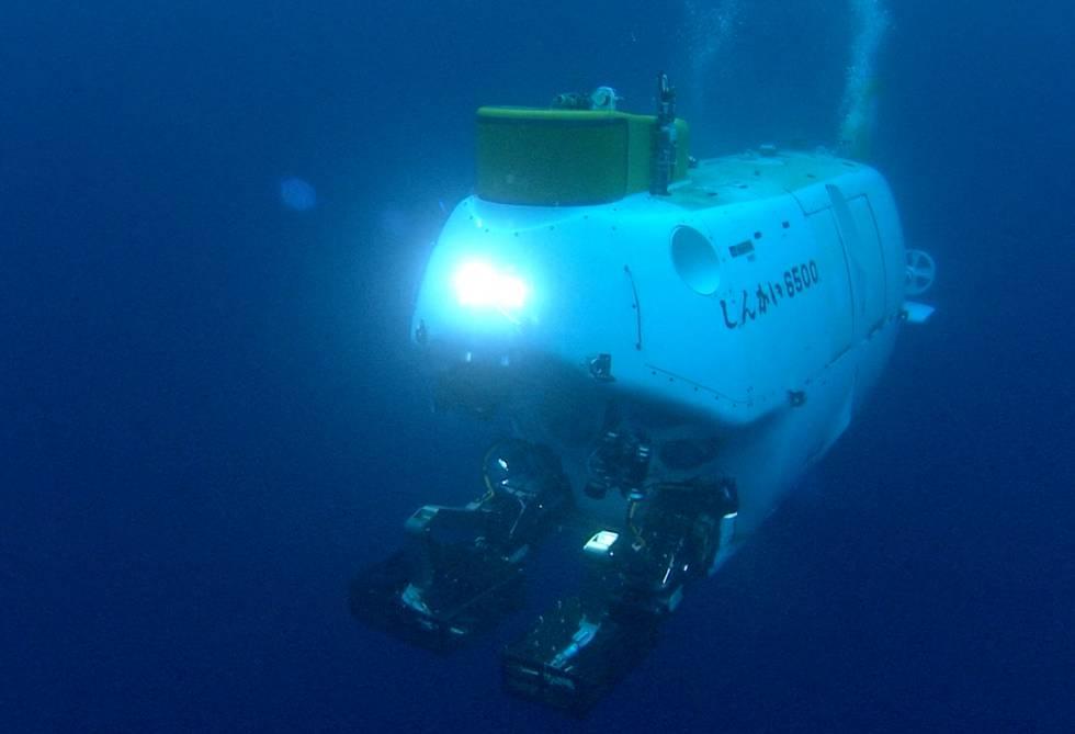 Un robot submarino usado en la investigación.