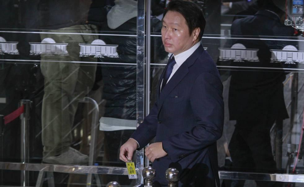 El empresario Chey Tae-won.