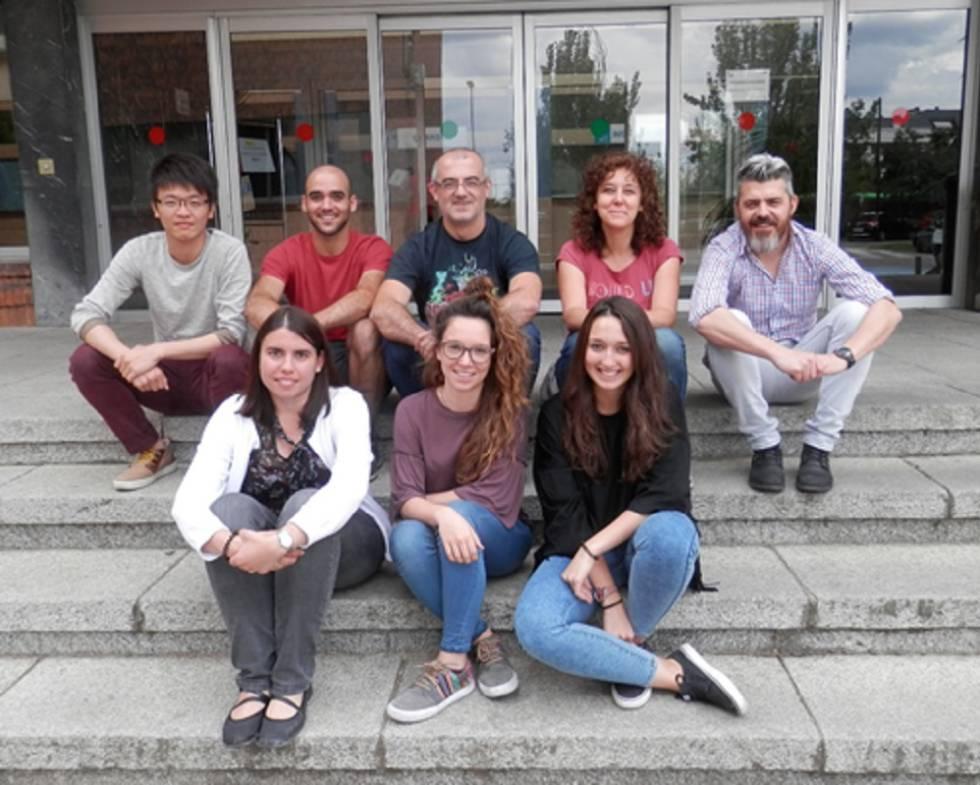 El trabajo ha sido dirigido por Ricardo Gargini, primero por la derecha, y Pilar Sánchez-Gómez, a su lado, investigadores del Instituto de Salud Carlos III de Madrid.
