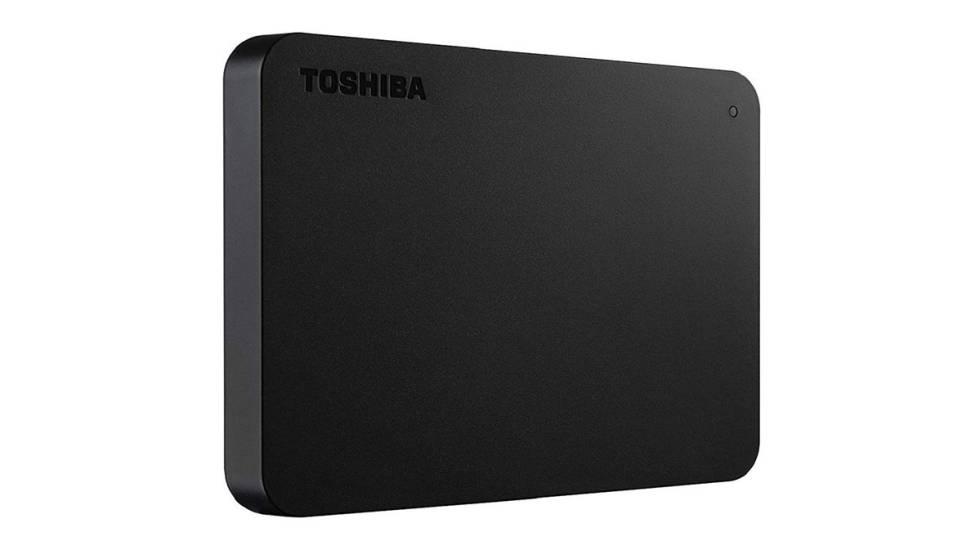 Disco duro externo de 1 TB Toshiba Canvio Basics