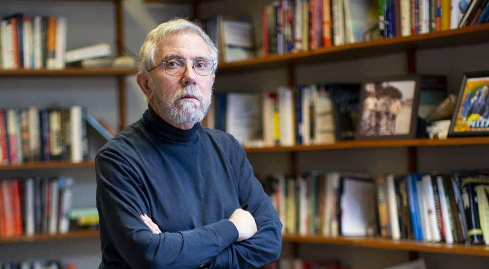 El premio Nobel de Economía 2008, Paul Krugman.