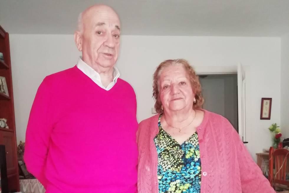 Fermina Vega y Mariano Rebollo.