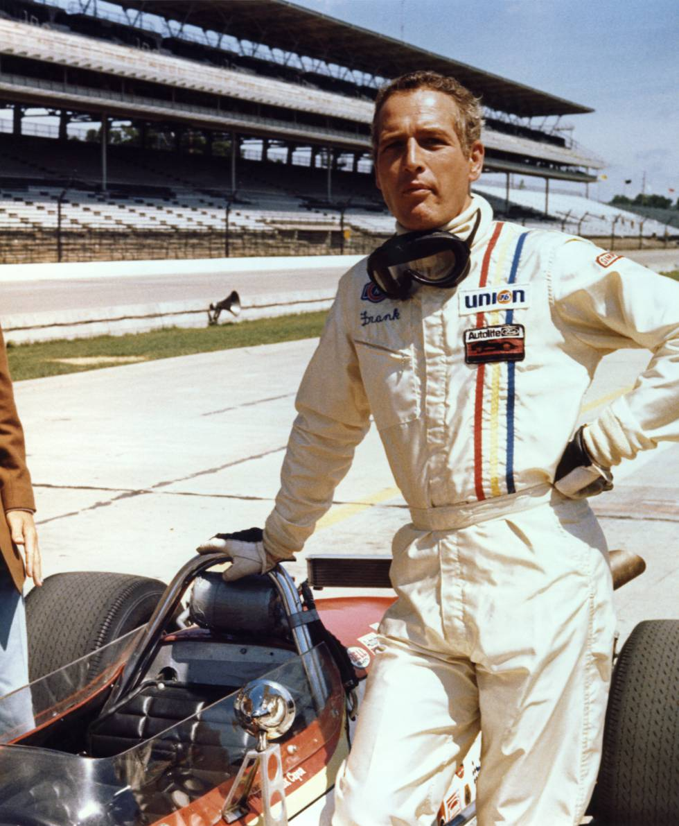Amaba casi más correr carreras de coches que la interpretación. Esta afición traía de cabeza a su pareja, Joanne Woodward. Odiaba que él participara en carreras.