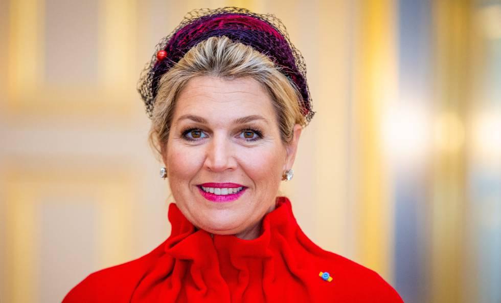Maxima de Holanda, en octubre.