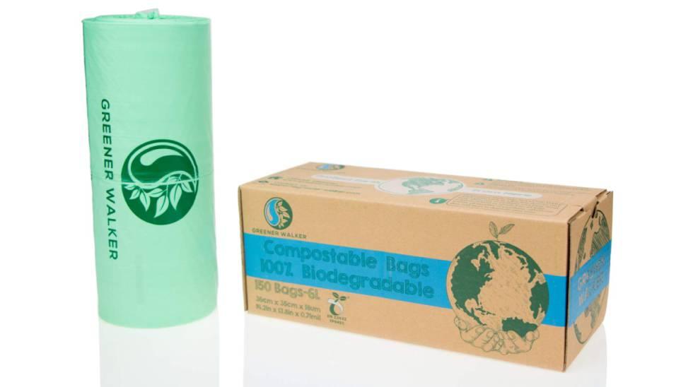 150 bolsas de basura biodegradables