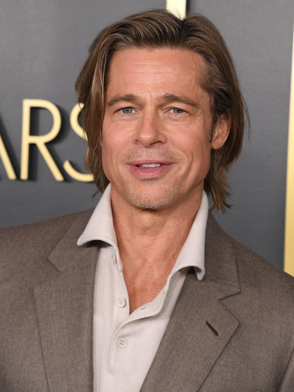Uno de los puntos claves del 'look' de Brad Pitt es su media melena desenfadada y esos primeros planos que soporta mejor que cualquier actor de veinte años.