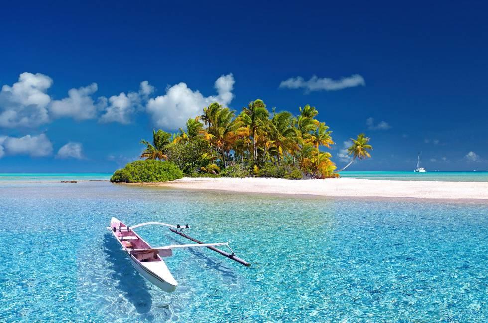Una isla de la Polinesia.