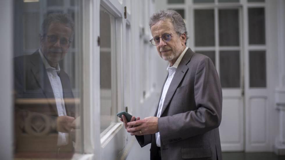 Sandy Napel, experto en imagen médica de la Universidad de Stanford, en el Hospital Clinic de Barcelona.