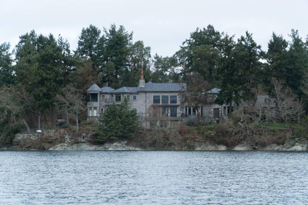 La residencia de los duques de Sussex en North Saanich (Canadá).