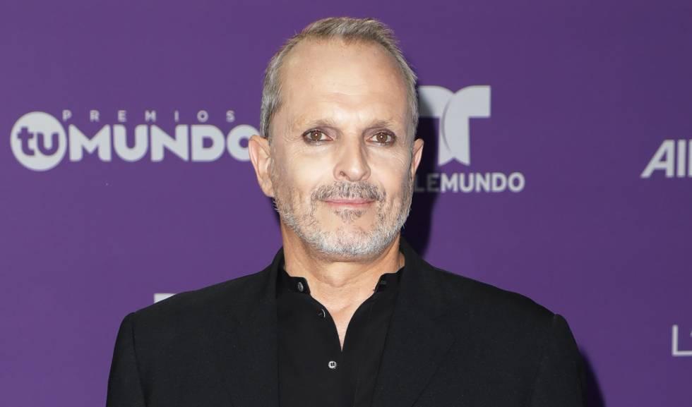 Miguel Bosé, en 2017 en Miami.