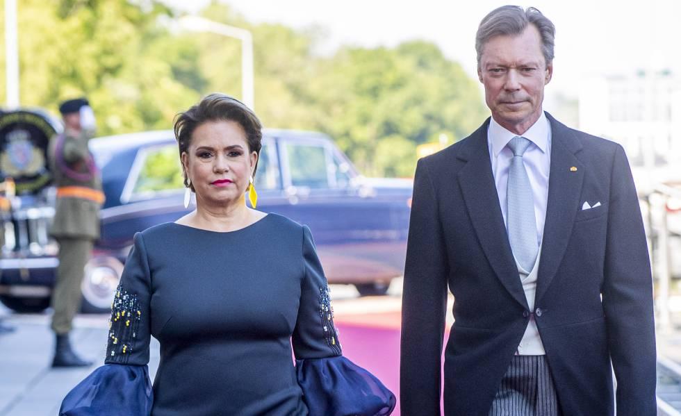María Teresa y Enrique de Luxemburgo, el pasado mes de junio.